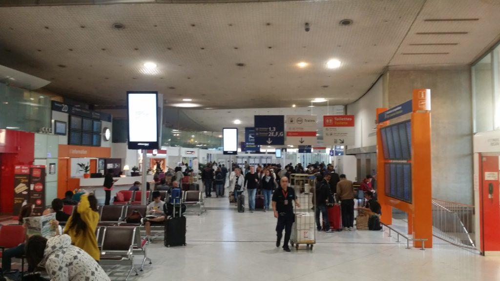 Traslado del aeropuerto de París charles de gaulle