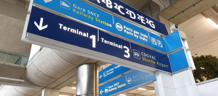 traslado del aeropuerto Charles de Gaulle a París